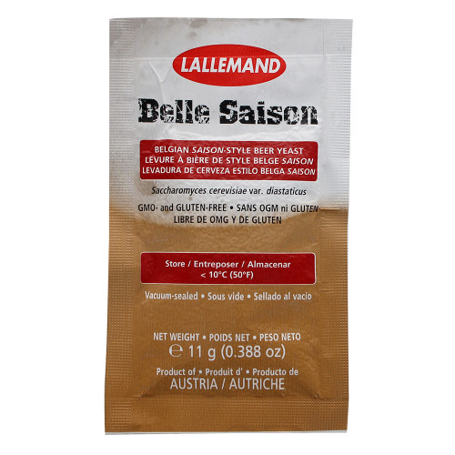Lallemand Belle Saison Ale Brewing Yeast - 11 g