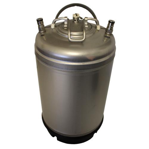 New Ball Lock Beer Keg - 3 Gallon