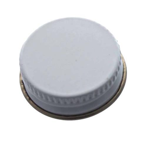 28mm Metal Screw Cap - Single