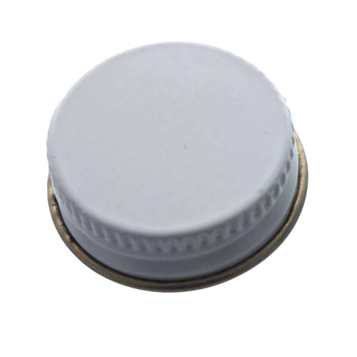 28mm Metal Screw Cap - Single