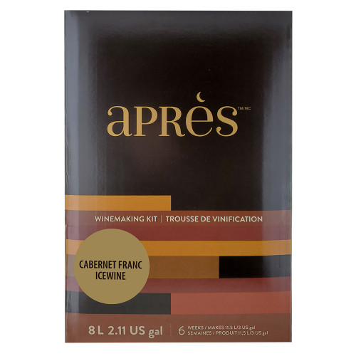 Apres Limited Release Dessert Wine 11.5 Liter Kit - Cabernet Franc Icewine Style
