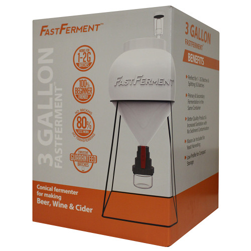 FastFerment 3 Gallon Conical With Stand