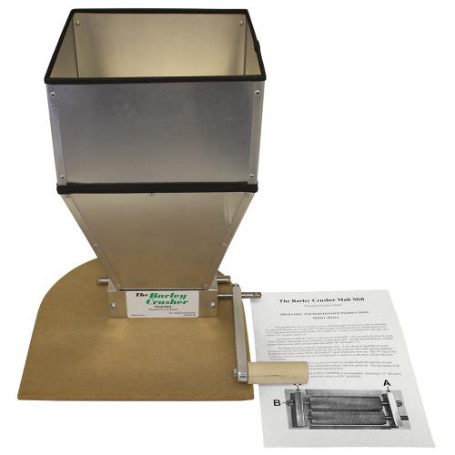 The Barley Crusher 15 lb. Hopper