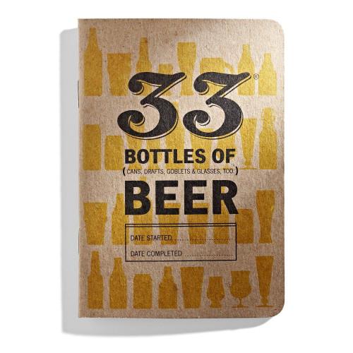 33 Bottles of Beer (A Pocket Tasting Journal)