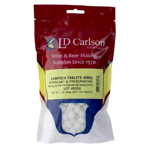 Campden Tablets (Potassium Metabisulfite) - 1 Lb