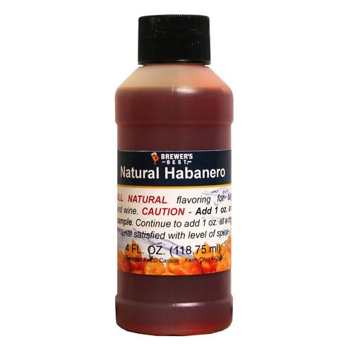 Natural Flavoring - Habanero - 4 oz