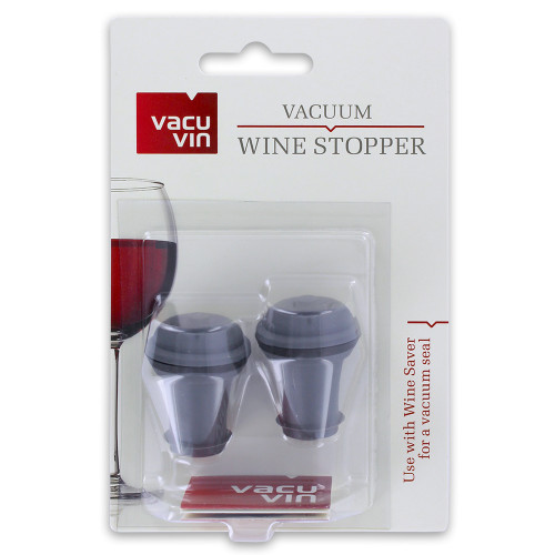 Vacu Vin Wine Saver Extra Stoppers Set Of Two
