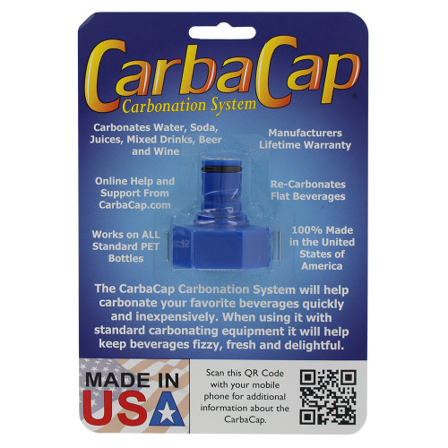 CarbaCap Carbonation System C02 Coupling To Carbonate Soda Beer Juice Water