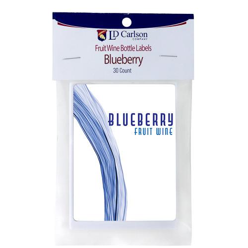 Blueberry Fruit Wine Labels