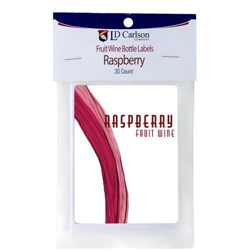 Raspberry Fruit Wine Labels