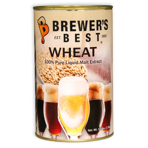 Brewer's Best Liquid Malt Extract - Wheat- 3.3 lbs.