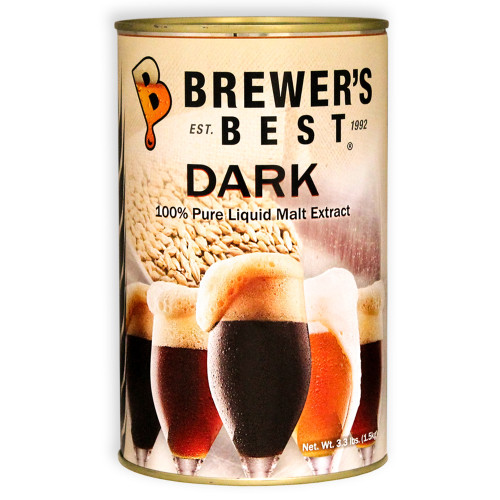 Brewer's Best Liquid Malt Extract - Dark - 3.3 lbs.