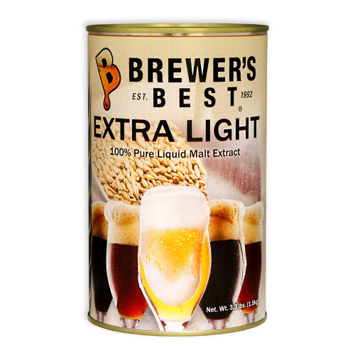 Brewer's Best Liquid Malt Extract - Extra Light- 3.3 lbs.