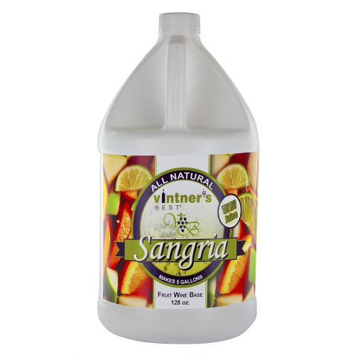 Vintner's Best Sangria Fruit Wine Base-128 oz. Jug