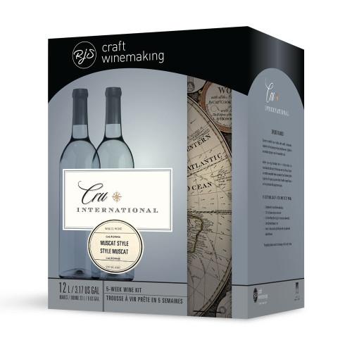 Wine Ingredient Kit - Cru International - California Muscat Style