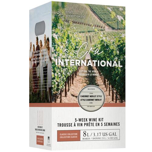 Wine Ingredient Kit - Cru International - Chilean Cabernet Merlot Style