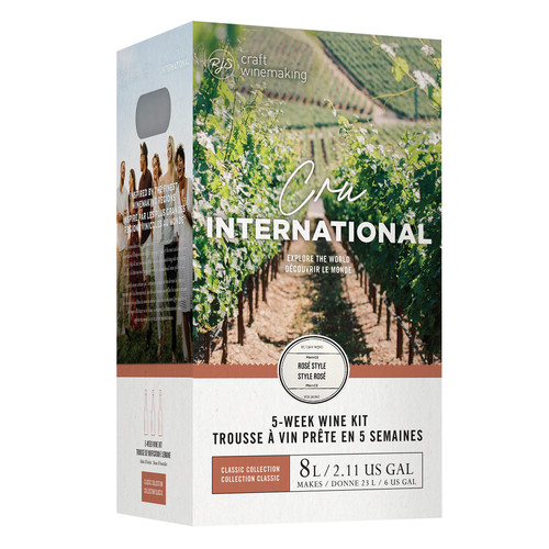 Wine Ingredient Kit - Cru International - French Rose Style