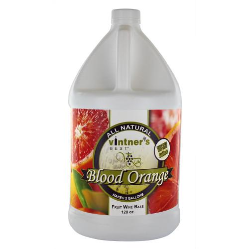 Vintner's Best Blood Orange Fruit Wine Base-128 oz. Jug