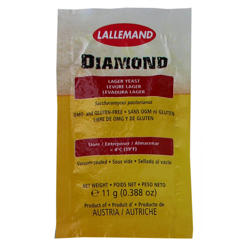 Lallemand Diamond Lager Dry Yeast 11grams