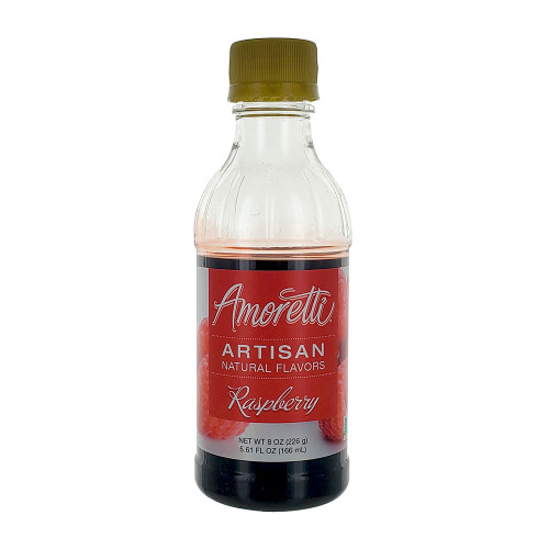 Amoretti Artisan Fruit Puree Raspberry 8 Oz