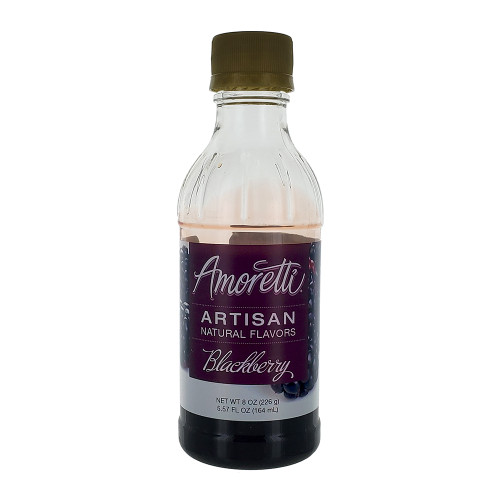 Amoretti Artisan Fruit Puree Blackberry 8 Oz