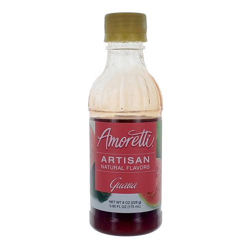 Amoretti Artisan Fruit Puree Guava 8 Oz