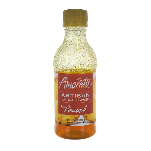 Amoretti Artisan Fruit Puree Pineapple 8 Oz