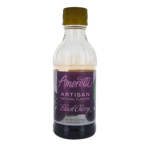 Amoretti Artisan Fruit Puree Black Cherry 8 Oz