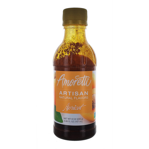 Amoretti Artisan Fruit Puree Apricot 8 Oz