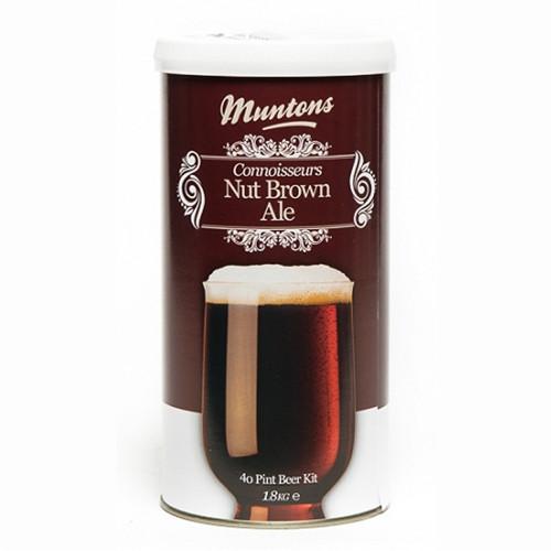 Muntons Connoisseurs Range Nut Brown Ale Beer Making Kit