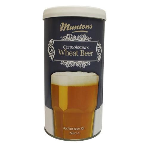 Muntons Connoisseurs Range 40 Pint Wheat Beer Kit, 1.8kg.
