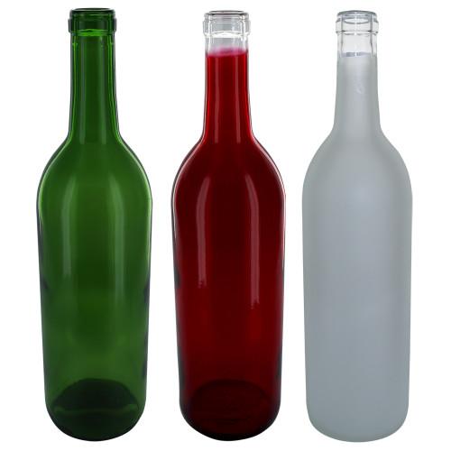 Home Brew Ohio Holiday Wine Bottles