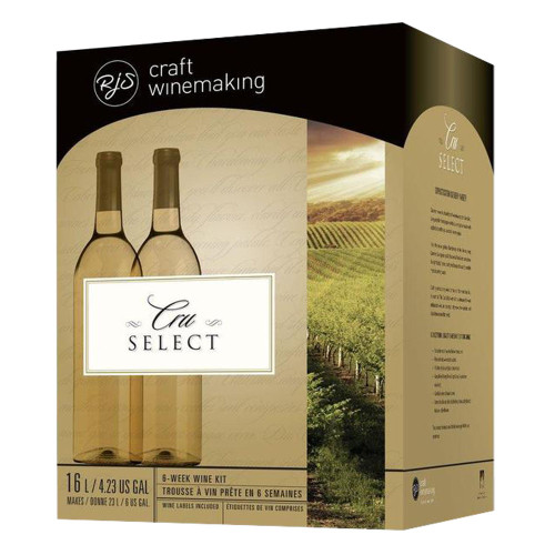 Wine Ingredient Kit - CRU SELECT Italian Style Pinot Grigio