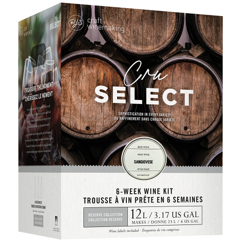 Wine Ingredient Kit - CRU SELECT Italian Style Sangiovese