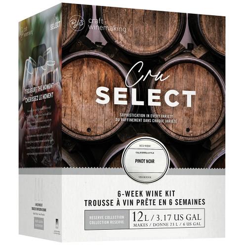 Wine Ingredient Kit - CRU SELECT California Style Pinot Noir