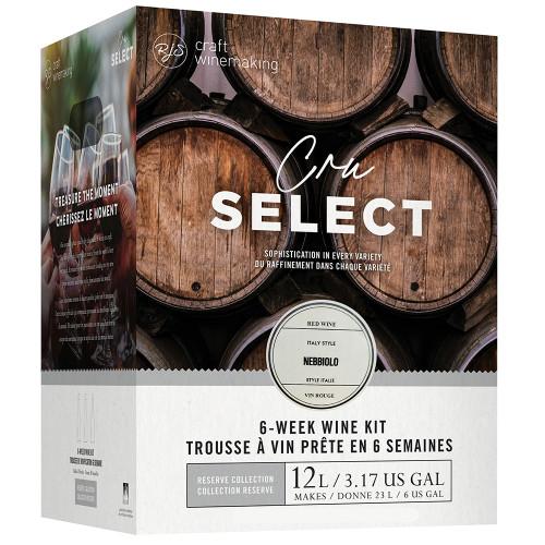 Wine Ingredient Kit - CRU SELECT Italian Style Nebbiolo