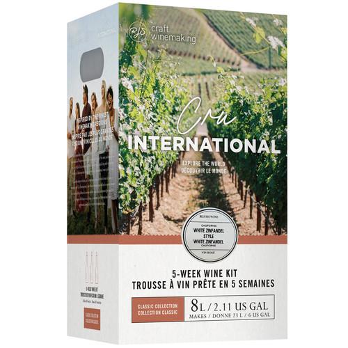 Wine Ingredient Kit - Cru International - California White Zinfandel Style