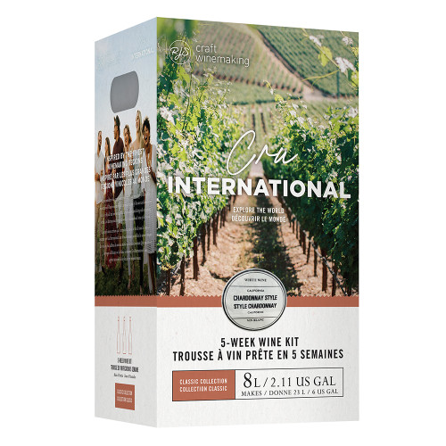 Wine Ingredient Kit - Cru International - California Chardonnay Style
