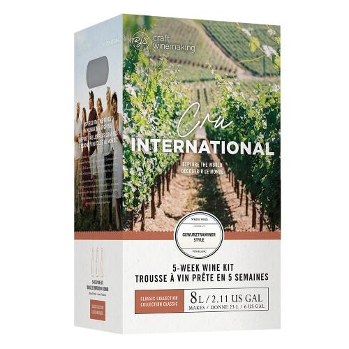 Wine Ingredient Kit - Cru International - German Gewürztraminer Style