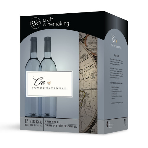 Wine Ingredient Kit - Cru International - Italian Pinot Grigio Style