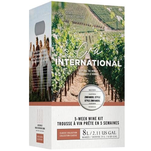 Wine Ingredient Kit - Cru International - California Zinfandel Style