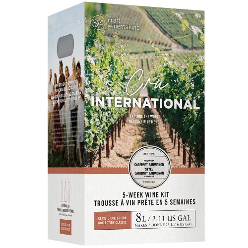 Wine Ingredient Kit - Cru International - Australian Cabernet Sauvignon Style