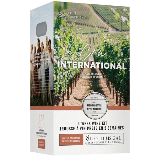 Wine Ingredient Kit - Cru International - Italian Nebbiolo Style