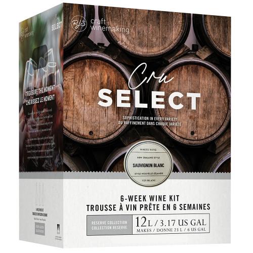 Wine Ingredient Kit - CRU SELECT New Zealand Style Sauvignon Blanc