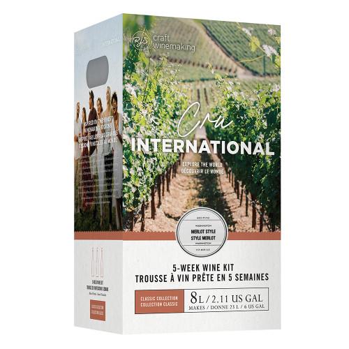 Wine Ingredient Kit - Cru International - Washington Merlot Style