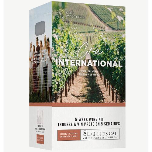 Wine Ingredient Kit - Cru International - California Syrah Style