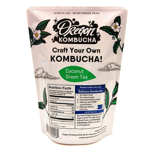 OREGON KOMBUCHA Basic Coconut Green Tea Starter Kit, 1 Each