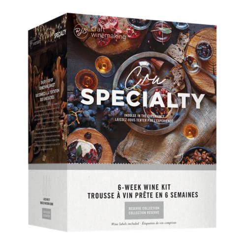 Cru Specialty Dessert Wine Ingredient Kit-Vidal Style