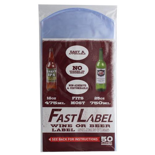 Beer Label Sleeves - Fastlabel 650 mL to750 mL