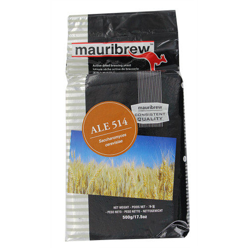 Mauribrew Ale - Dry Brewing Yeast 500G (American Ale)